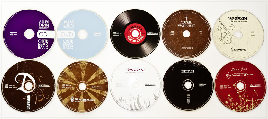 CD Packaging Design // CD Gestaltung